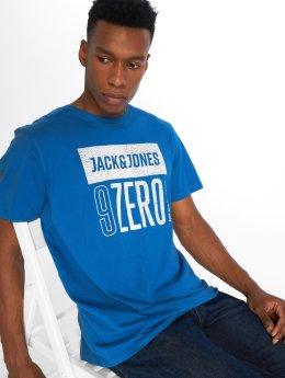 Jack & Jones T-shirts Jcovincents blå