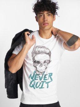 Jack & Jones T-shirts Jorfestskull hvid