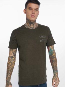 Jack & Jones T-shirts jcoScreen oliven