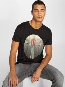 Jack & Jones T-shirts Jorcurrent sort