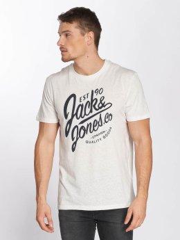 Jack & Jones T-Shirty jorBreezes bialy