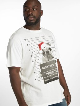 Jack & Jones T-Shirty jorPhotoxmas bialy