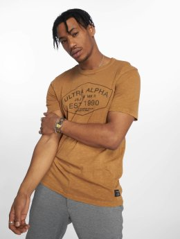 Jack & Jones T-Shirty jcoJasons brazowy