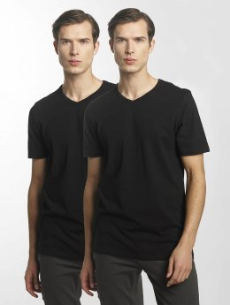 Jack & Jones T-Shirty jacBasic czarny