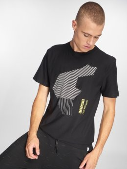 Jack & Jones T-Shirty jcoNine czarny