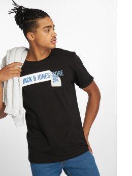 Jack & Jones T-Shirty jcoPossible czarny