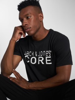 Jack & Jones T-Shirty Jcofoam czarny