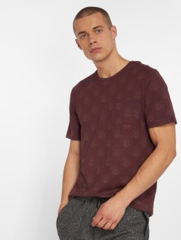 Jack & Jones T-Shirty jprTerry czerwony