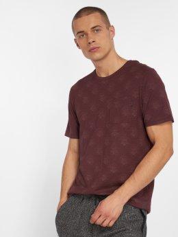Jack & Jones T-Shirty jprTerry czerwony