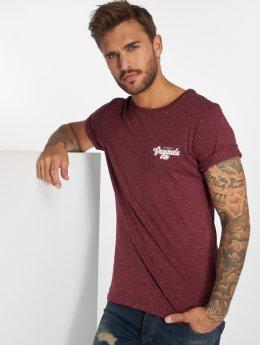Jack & Jones T-Shirty Jorhaltsmall czerwony