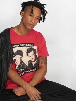 Jack & Jones T-Shirty jorKevin Xmas czerwony