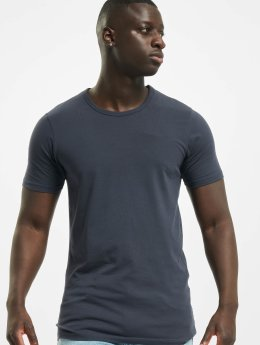 Jack & Jones T-Shirty Basic O-Neck niebieski