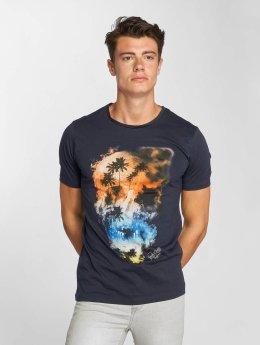 Jack & Jones T-Shirty jorSmokeskull niebieski