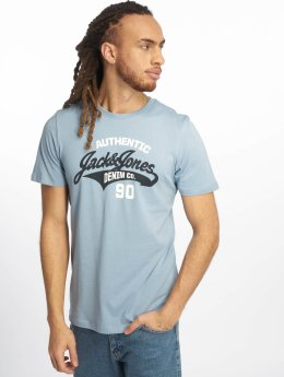 Jack & Jones T-Shirty jjeLogo niebieski