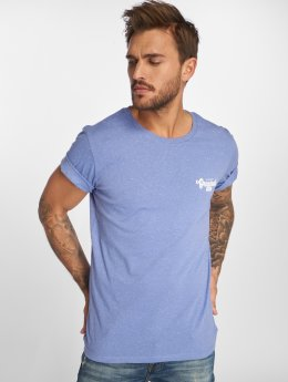 Jack & Jones T-Shirty Jorhaltsmall niebieski