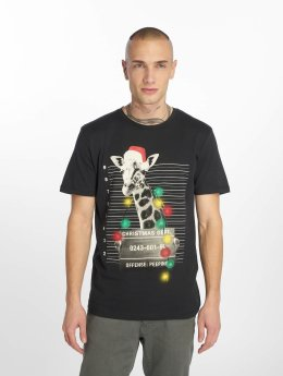 Jack & Jones T-Shirty jorPhotoxmas niebieski