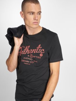 Jack & Jones T-Shirty jprDavis szary