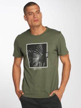 Jack & Jones T-Shirty jcoTrend zielony
