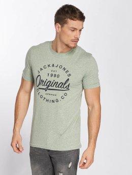 Jack & Jones T-Shirty jorBreezes zielony