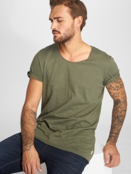 Jack & Jones T-Shirty jjeBas zielony