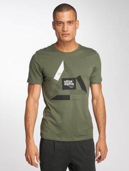 Jack & Jones T-skjorter jcoBoshof grøn