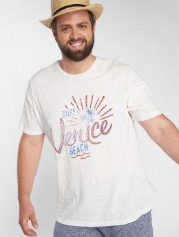 Jack & Jones T-skjorter jorBoby hvit