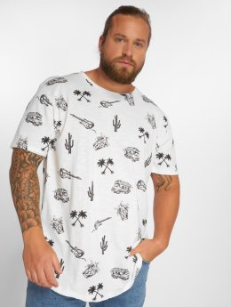 Jack & Jones T-skjorter jorPumped hvit