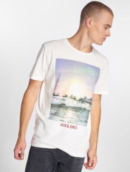 Jack & Jones T-skjorter jorStream hvit