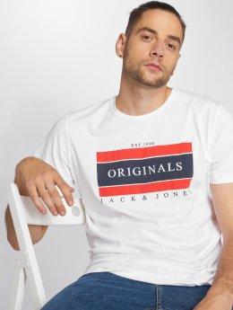 Jack & Jones T-skjorter Jorshakedown hvit