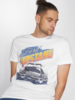 Jack & Jones T-skjorter Jormustang hvit