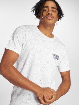 Jack & Jones T-skjorter Jorhaltsmall hvit