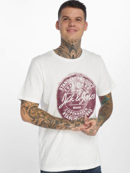Jack & Jones T-skjorter jorRejistood hvit