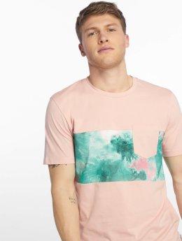 Jack & Jones T-skjorter jorFilter lyserosa