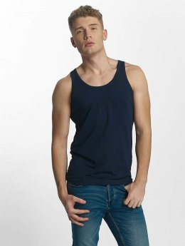 Jack & Jones Tank Tops Basic  niebieski