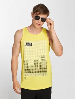 Jack & Jones Tank Tops jcoBurg yellow