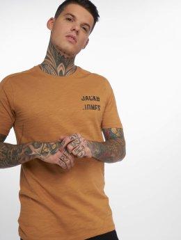Jack & Jones Tričká jcoScreen hnedá