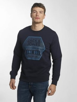 Jack & Jones trui jcoGeometric blauw