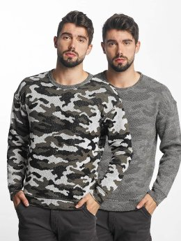 Jack & Jones trui jorGiden Reversible groen