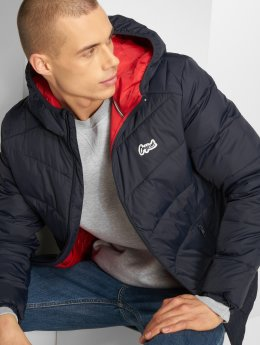 Jack & Jones Übergangsjacke jorBend Light Puffer blau