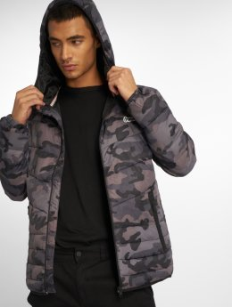 Jack & Jones Übergangsjacke jorBend Light Puffer grau