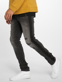 Jack & Jones Vaqueros pitillos jjiLiam jjOriginal AM 772 negro