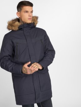 Jack & Jones Vinterjackor jcoEarth blå