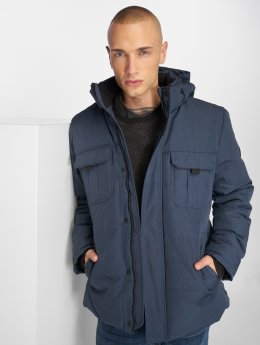 Jack & Jones winterjas jcoNew Will blauw