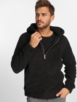 Jack & Jones Zip Hoodie Jprteddy čern