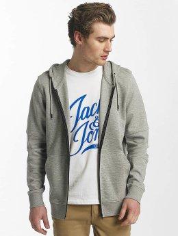 Jack & Jones Zip Hoodie jcoShaun gray