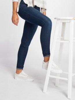 JACQUELINE de YONG Облегающие джинсы jdyFlora синий