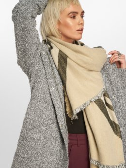 JACQUELINE de YONG Coats jdyDemea Hooded Boucle gray