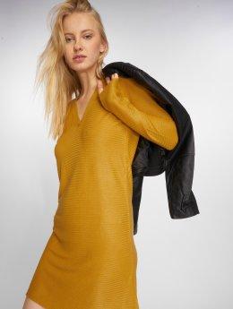 JACQUELINE de YONG Dress jdyMathison gold colored