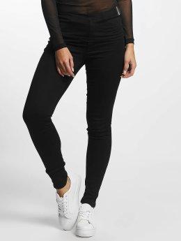 JACQUELINE de YONG High Waist Jeans jdySkinny Ulle schwarz
