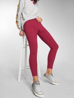 JACQUELINE de YONG Jean skinny jdyFive rouge